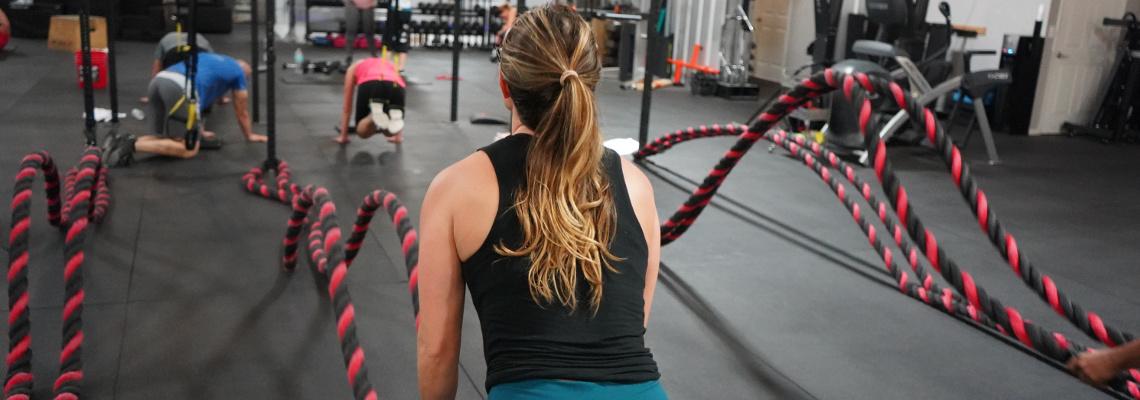 Sport im Fitnesscenter